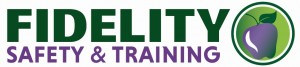 Fidelity Safety & Training Logo Purple Apple