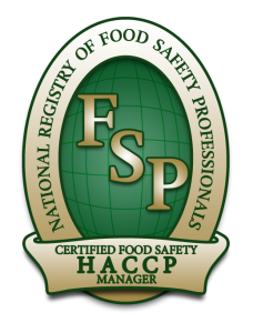 fidelity safety and training - Certification Exam HACCP Managers