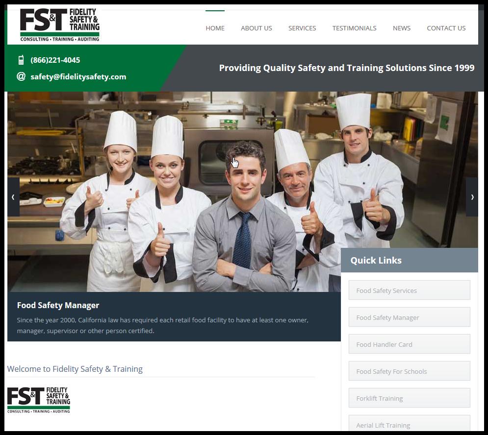 Food Safety Training CA & AZ