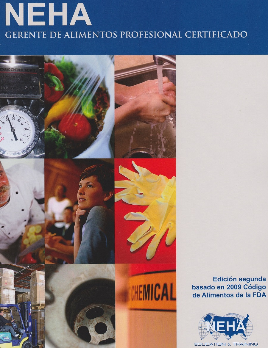 Food Safety Manager – NEHA Professional Food Manager Book (Spanish – Hard Copy)