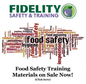 Certified Food Safety Manager Courses and Examinations